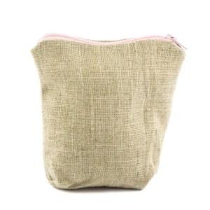 sacchetto portaconfetti cubo zip rosa