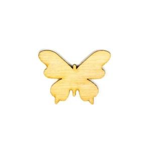Applicazione bomboniere Farfalla naturale