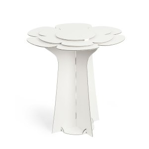 Alzata fiore wedding diametro cm 60 x 58 bianco (conf. 2 pezzi)-0