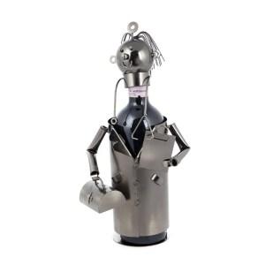 Dottore Portabottiglia Metallo-0