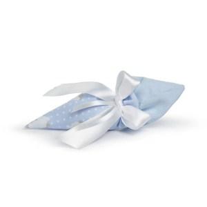 Cono portaconfetti Loneta Pecorella Celeste (10Pz)-0
