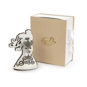 Bomboniera sposi grandi con clessidra con scatola-0