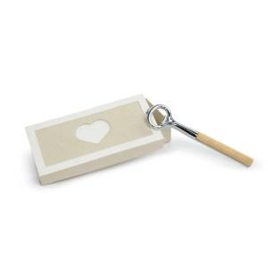 Bomboniera apribottiglie con manico in legno con scatola-0