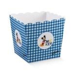 Scatola Vaso Mickey Mouse Blu 15 X 15 X 18 cm (10 PZ)-0