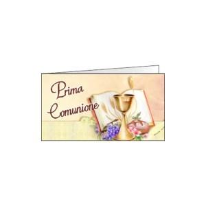 Bigliettino Bomboniera Comunione Color (Pz. 200)-0