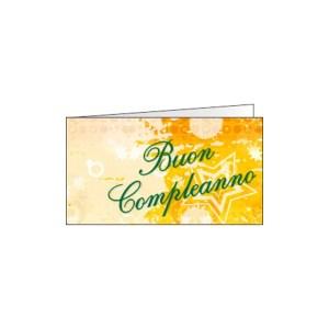 Bigliettino Bomboniera Buon Compleanno Stella(Pz. 200)-0