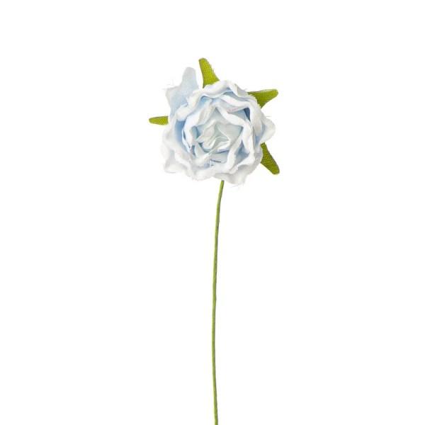 Rosellina decorativa di colore celeste