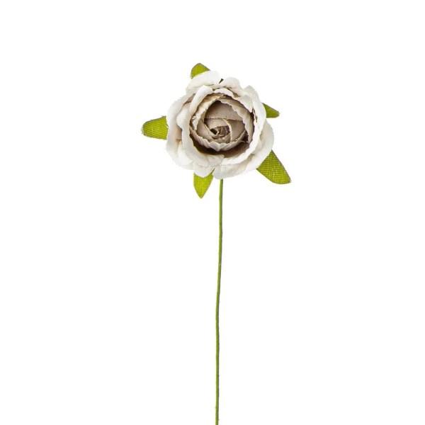 Rosellina vintage bomboniera beige