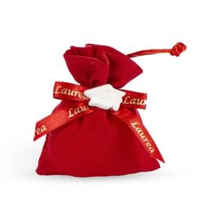 Sacchetto rosso Laurea-0