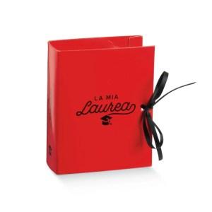 Astuccio portaconfetti book Laurea