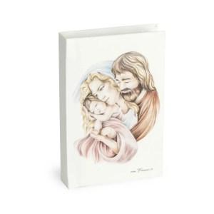 Vangelo con immagine Sacra famiglia