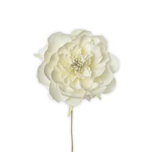 Applicazione fiore ortensia panna