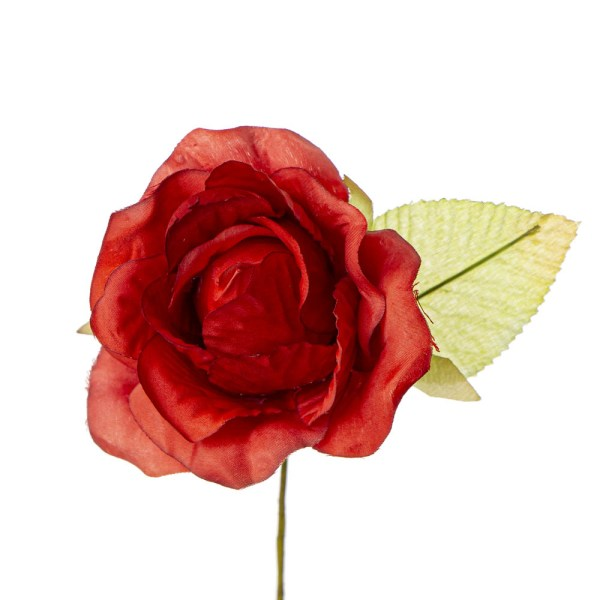 Applicazione fiore bocciolo rosso