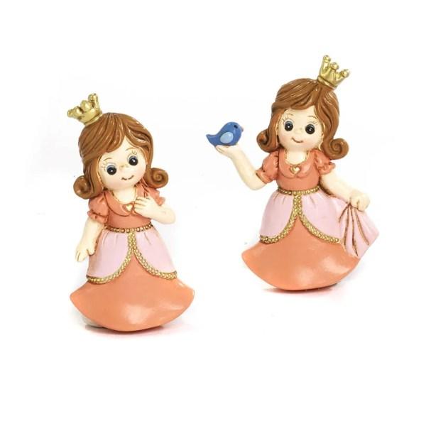 Bomboniera in resina con magnete principessa 2 assortiti