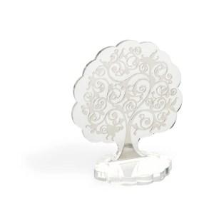 Bomboniera albero della vita grande in plexiglass trasparente-0