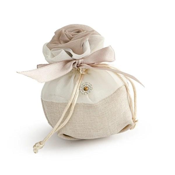 sacchetto rosacon strass