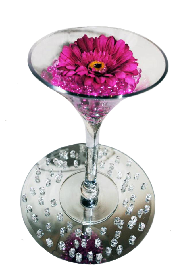 DIY BLING CENTERPIECE GREAT FOR WEDDING SPECIAL