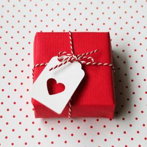 Cadeau hart valentijnsdag