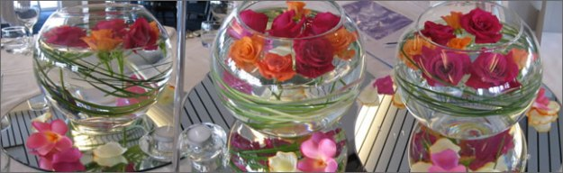 centrepieces for hire | event hire themes | table centres | party