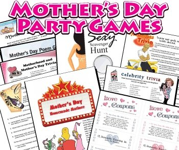 Printable Games for Mother's Day | Mother's Day Activities ...