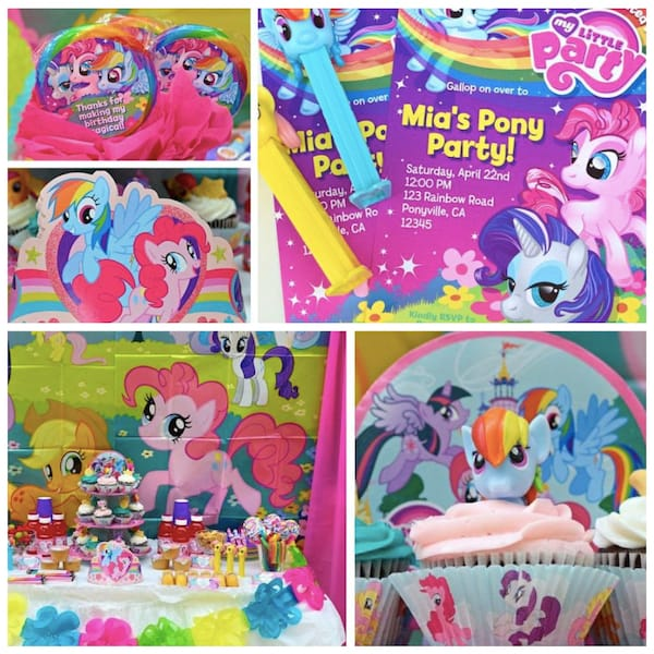 my little pony party planning ideas