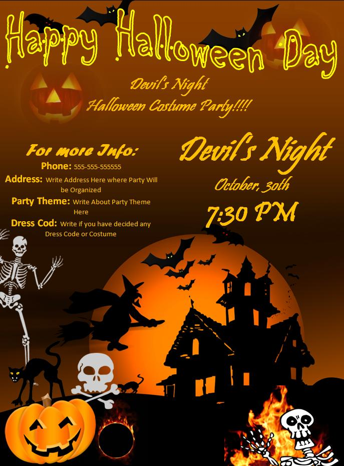 Halloween Party Invitation Cards | Party Ideas