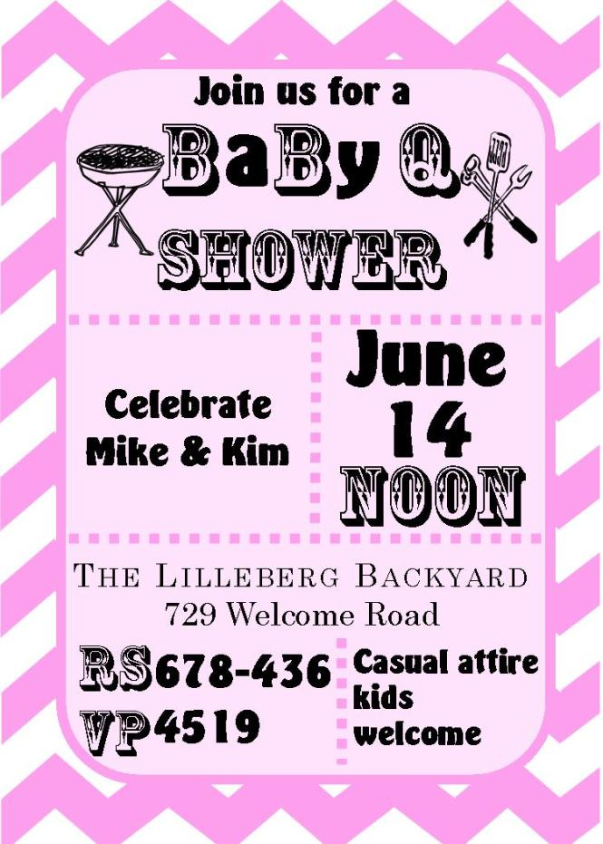 Babyq Baby Shower Invitations Summer 2019