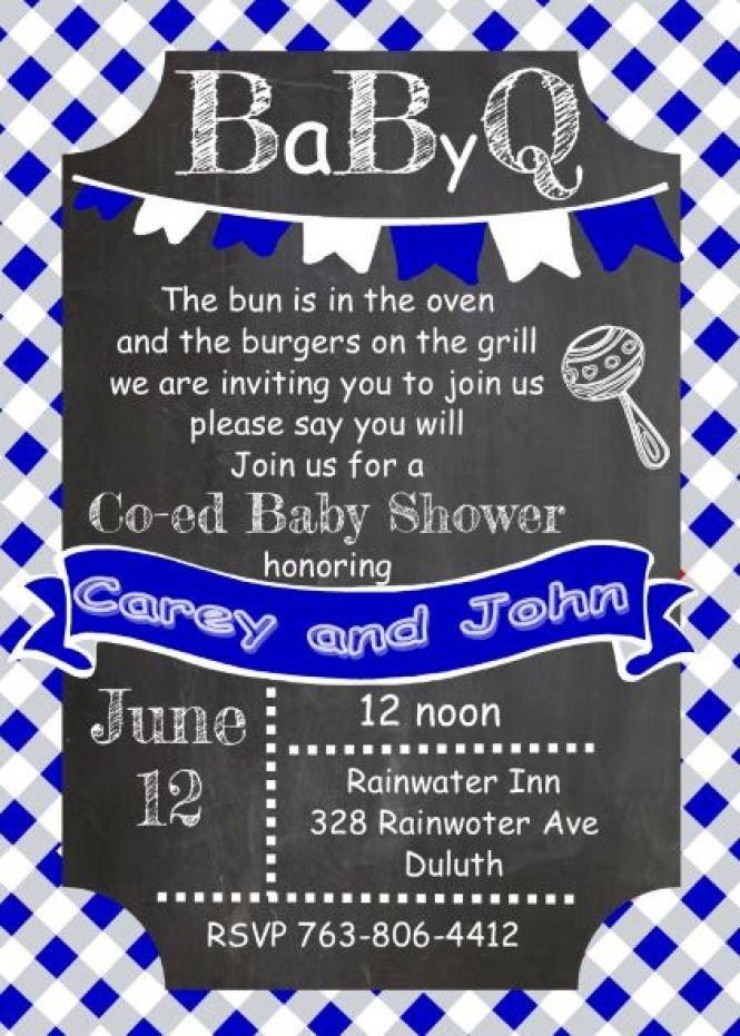 Babyq Baby Shower Invitations Summer 2019