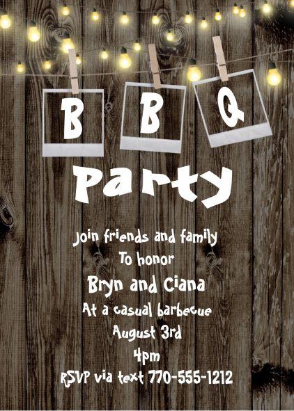 barbecue party invitations bbq