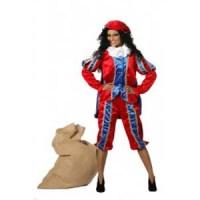 Zwarte Piet Rood Blauw
