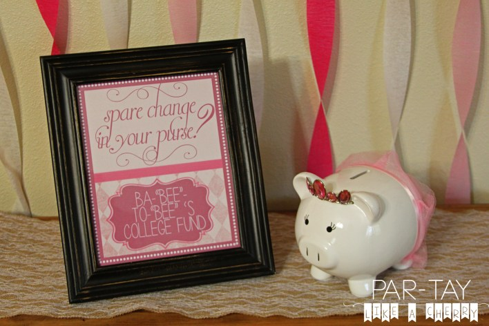 baby shower game and decoration idea