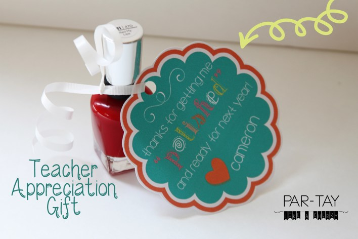 teacher appreciation gift idea free printable