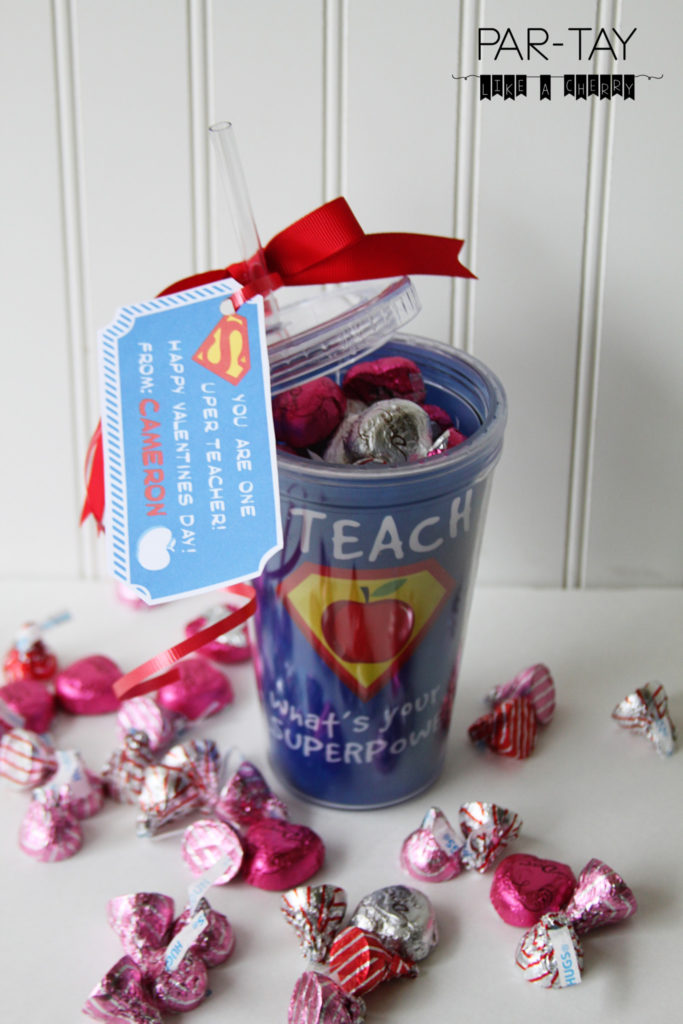 Free Printable Teacher Valentine Gift Tags Party Like A