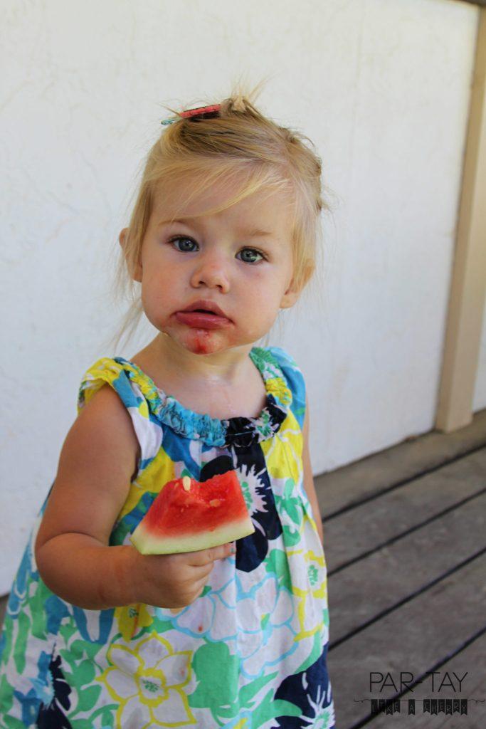 watermelon popsicles healthy summer kid snack idea