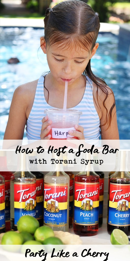 how to host a soda bar, DIY dirty soda bar and free printables