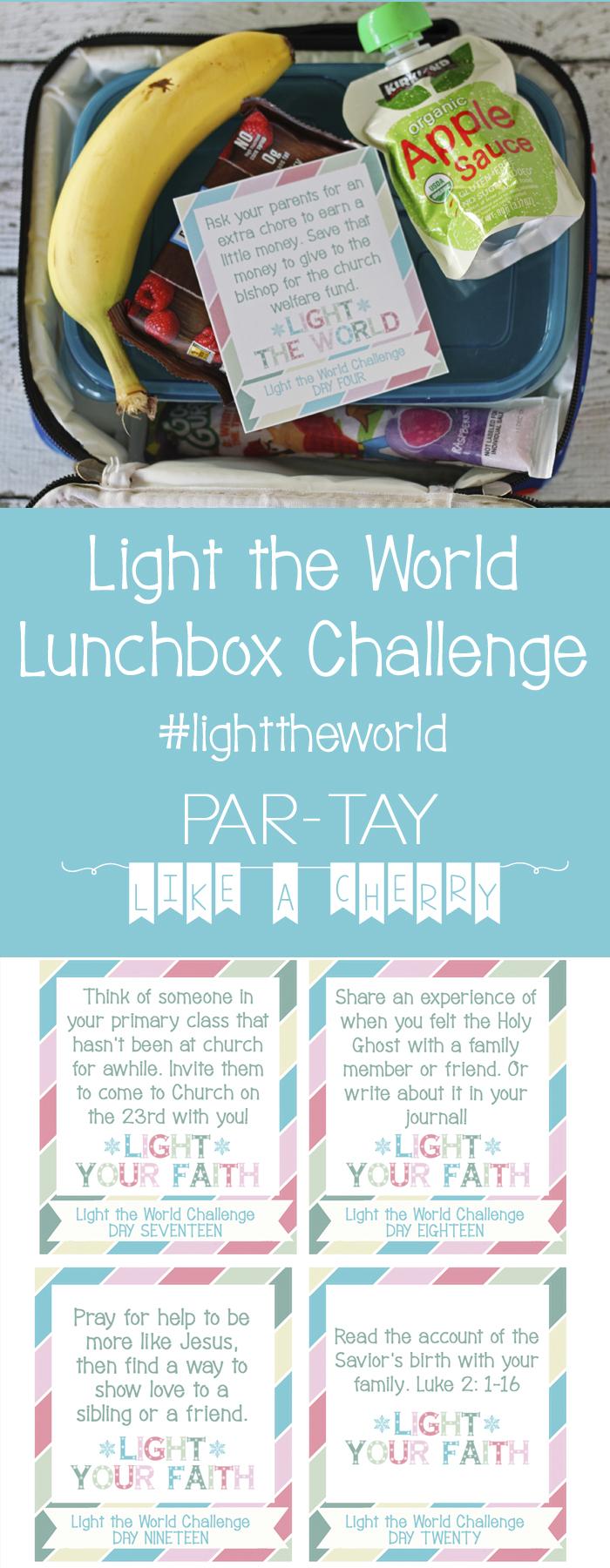 Light the World 2018 kids acitivity