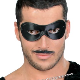 Svart ögonmask