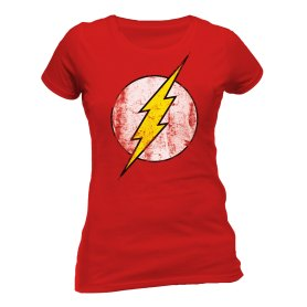 Flash t-shirt distressed logo
