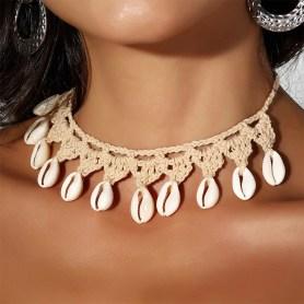 Crocheted necklace/bracelet/anklet