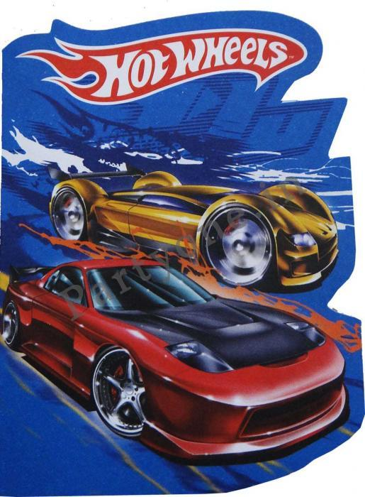 hot wheels invitation card set of 8