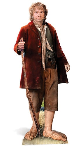The Hobbit Bilbo Baggins Lifesize Cutout 145cm Partyrama