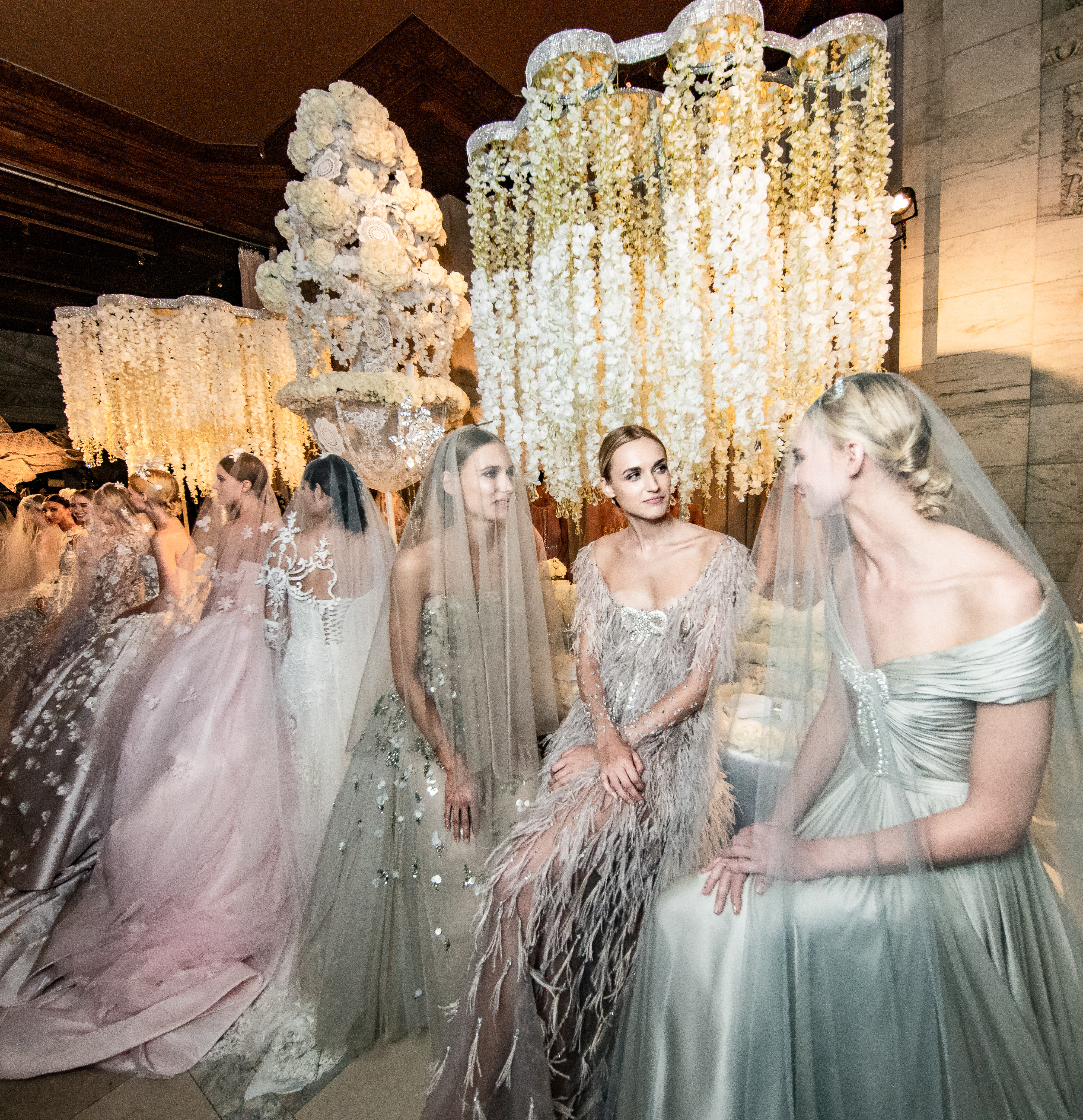 6afff8b5e8c ... Party Rental Ltd. - Inside the Reem Acra Bridal Celebration Collection  with Preston Bailey ...