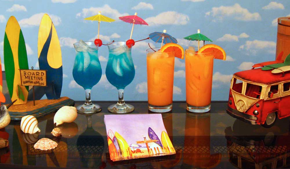 Cocktail Ideas For A Surfer Beach Party Drink Recipes