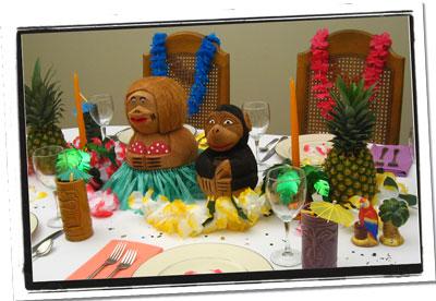 Tropical Fruit Centerpiece