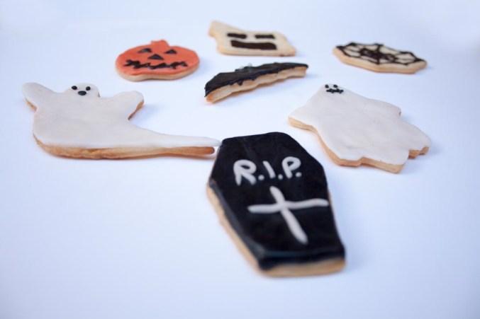 Biscotti stregati per Halloween