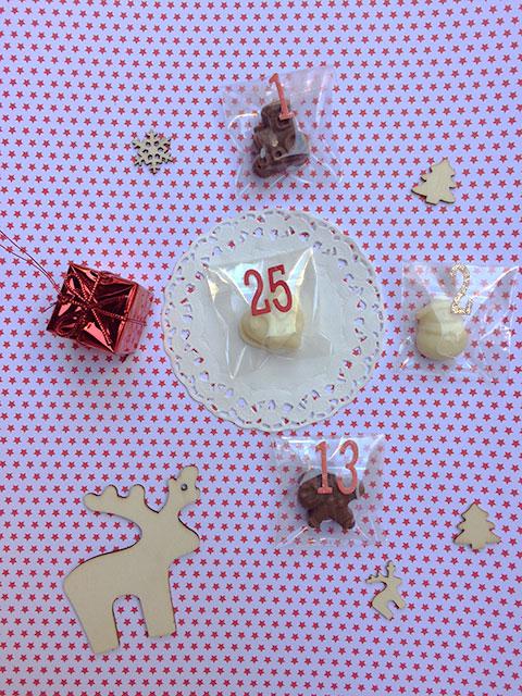 Cioccolatini, renne e decorazioni