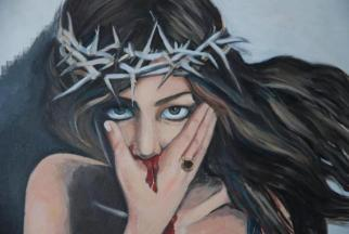 Mixed media on canvas, 120 x100 cm, 2011