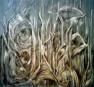 Acrylic on canvas 100 x 100 cm, 2007