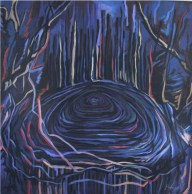 acrylic on canvas 120 x 120 cm, 2004