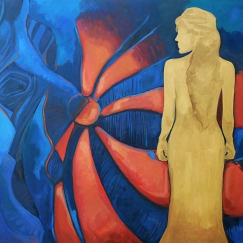 Acrylic on canvas, 150 x 180 cm, 2008